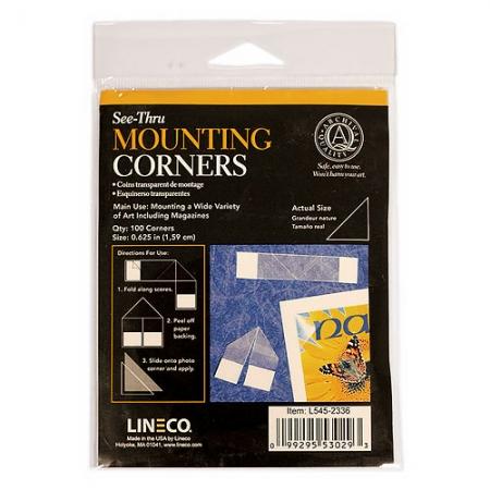Lineco-Mounting-corners